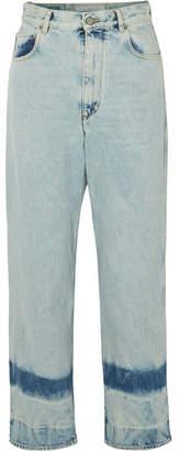 Golden Goose Kim High-rise Straight-leg Jeans - Light denim
