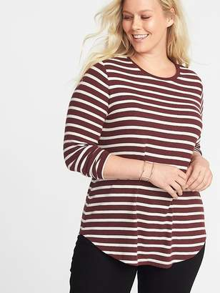 Old Navy Relaxed Plus-Size Plush-Knit Tunic