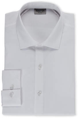 Kenneth Cole Reaction White Slim Fit Dress Shirt