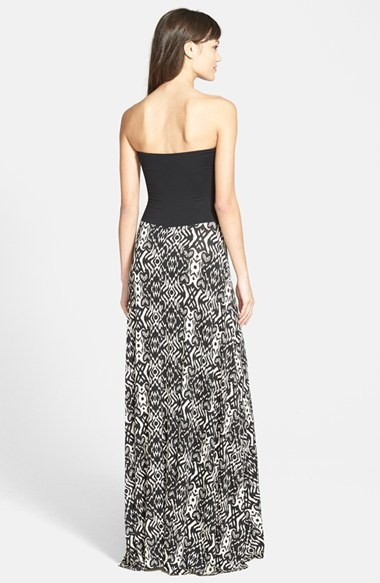 Nordstrom FELICITY & COCO 'Stripe of Samantha' Strapless Gown (Regular & Petite Exclusive)