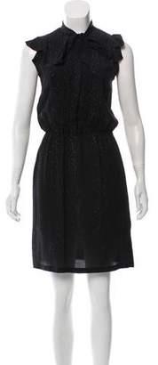 Tomas Maier Silk Knee-Length Dress