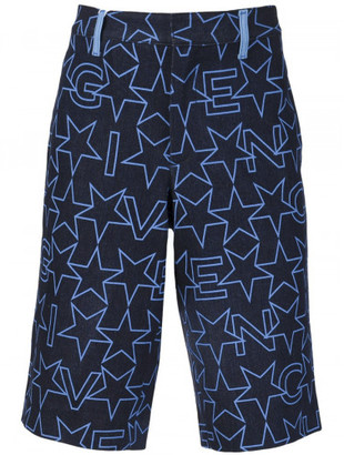 Givenchy denim bermuda shorts $990 thestylecure.com