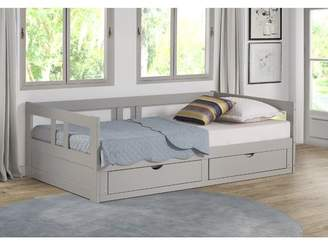 Harriet Bee Bechtold Twin Platform DayBed with Storage Bed Frame