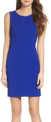 Women's Betsey Johnson Crepe Sheath Dress $128 thestylecure.com