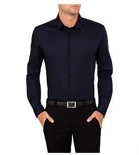 Versace Poplin Plain Single Cuff Shirt