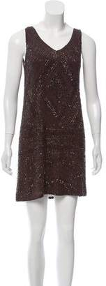Calypso Sleeveless Embellished Dress