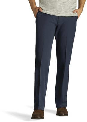 Lee Men's Performance Series Extreme Comfort Straight-Fit Refined Khaki Pants
