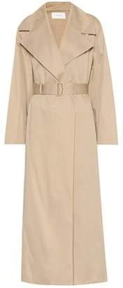 The Row Moora cotton trench coat