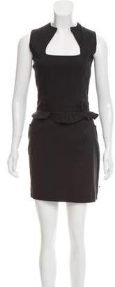 Preen Line Sleeveless Mini Dress