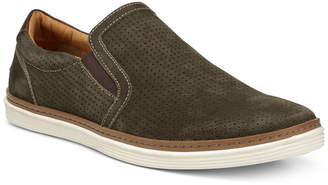 Donald J Pliner Travis Leather Slip-On Sneaker