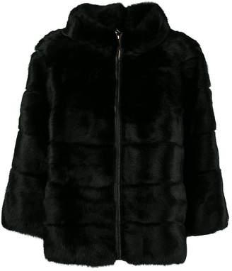 Blugirl high neck boxy coat