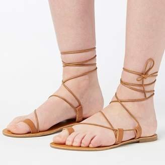 Feud Womens Maia Sandals Tan