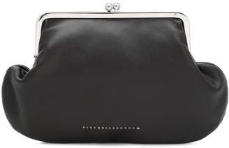 Victoria Beckham Pocket nappa leather clutch