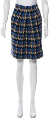 Lela Rose Patterned Knee-Length Skirt
