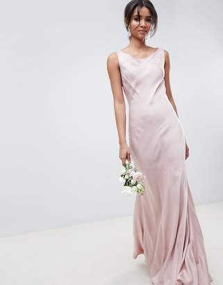 Ghost bridesmaid maxi dress in boudior pink
