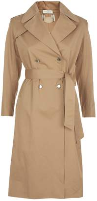 Sandro Lace-Up Trench Coat