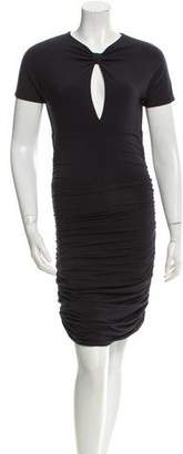 Pierre Balmain Cutout Cocktail Dress