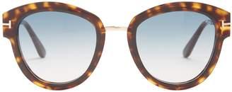 Tom Ford Lara round-frame sunglasses
