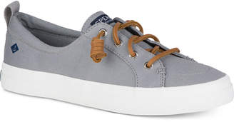 Sperry Women Crest Vibe Memory-Foam Lace-Up Fashion Sneakers Women Shoes