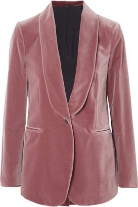 Brunello Cucinelli Velvet Blazer - Pink