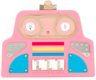 Charlotte Olympia Cobot clutch