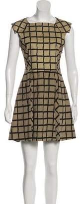 Rag & Bone Printed Sleeveless Mini Dress