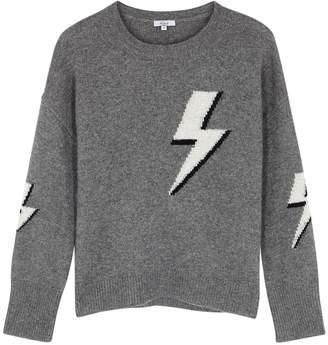 Rails Virgo Lightning-intarsia Wool-blend Jumper