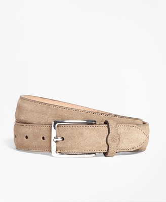 Brooks Brothers Suede Belt