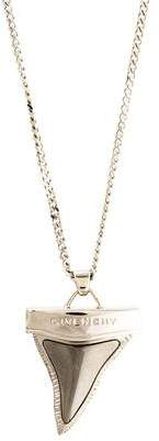 Givenchy Large Shark Tooth Pendant Necklace