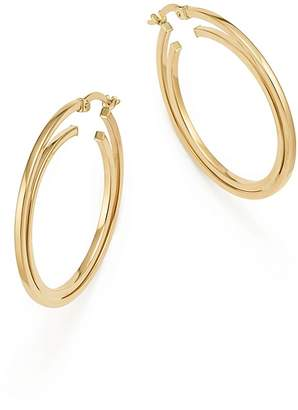 Bloomingdale's 14K Yellow Gold Double Hoop Earrings - 100% Exclusive