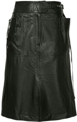 Ambush A-line skirt