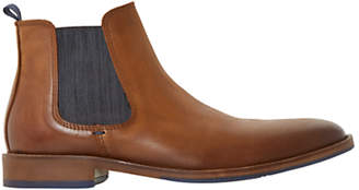 Dune Conor Leather Chelsea Boots, Tan