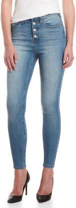 Dickies Light Stone Exposed Skinny Jeans