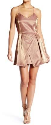 After Market Gold Metallic Dress