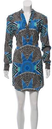 Mara Hoffman Knee-Length Abstract Print Dress