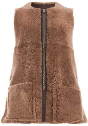 Toogood textured gilet jacket