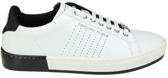 "Philipp Plein Sneakers ""another Night"" In White Leather"