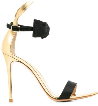 Gianvito Rossi bow-tie detail sandals