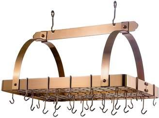 Old Dutch Rectangular Hanging Pot Rack