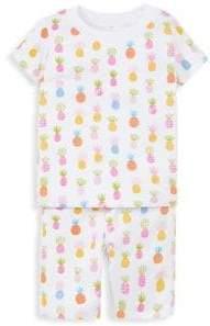 Kissy Kissy Kid's Two-Piece T-Shirt & Shorts Pajama Set