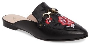 Women's Kate Spade New York Canyon Embroidered Loafer Mule $258 thestylecure.com