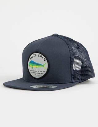 Salty Crew Dos Mahi Navy Boys Trucker Hat