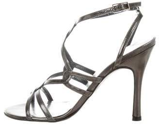 Stuart Weitzman High Heel Crossover Sandals