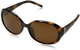 Jocelyn Eyelevel Women's Sunglasses, Brown/Brown Polarized