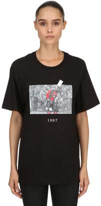 1997 Printed Cotton Jersey T-Shirt