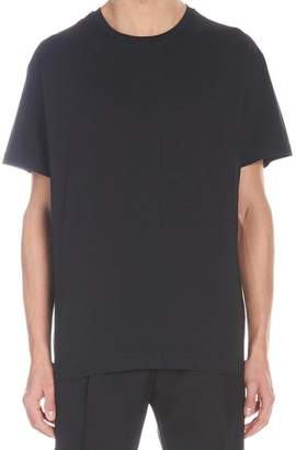 Christian Dior Logo Embroidered T-Shirt