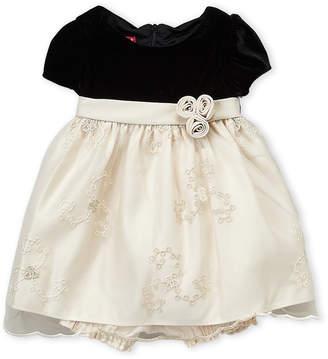 Princess Faith (Infant Girls) Velvet Bodice Dress