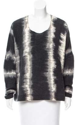 Torn By Ronny Kobo Oversize Tie-Dye Sweater