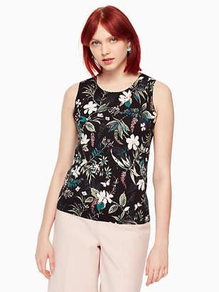 Kate Spade Botanical sleeveless sweater