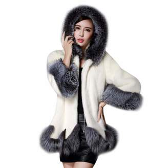 Liraly Womens Coats, 2018 New Women Long Sleeve Parka Outwear Fox Fur Coat Jacket Cardigan Fashion Coats Winter